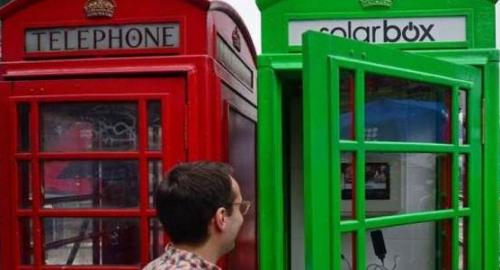 Solarbox: le nuove cabine di Londra